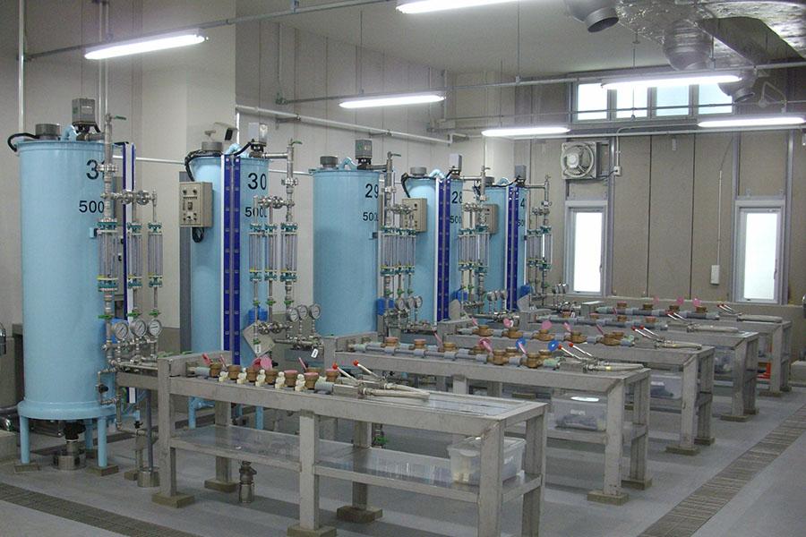 水道メータ試験設備移設工事