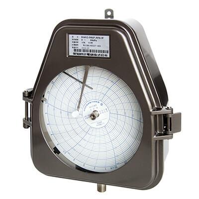 短時間回転型気体用自記圧力計 DA