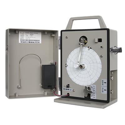 短時間回転型気体用自記圧力計