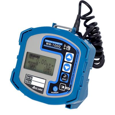 都市ガス/LPガス兼用デジタルマノメータ WM-1000-1