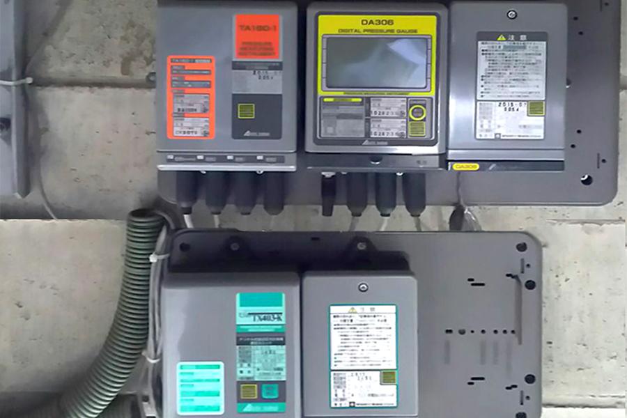 自記圧力計、通信ユニット本体