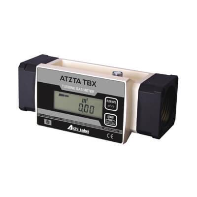 管理用タービンメーター(ねじ接続)(フランジタイプ)(内蔵電池) ATZTA TBX