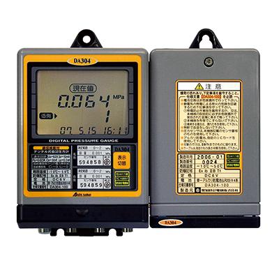 簡易ガス用デジタル式自記圧力計