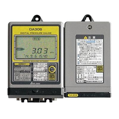 コミュニティーガス用デジタル式自記圧力計
