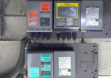 [施工実績]通信機能付デジタル式自記圧力計設置工事