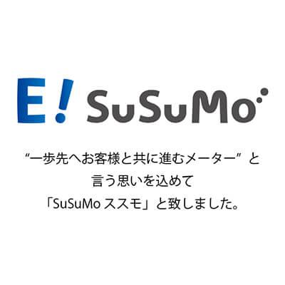 E型/E4型保安ガスメーター E!SuSuMo