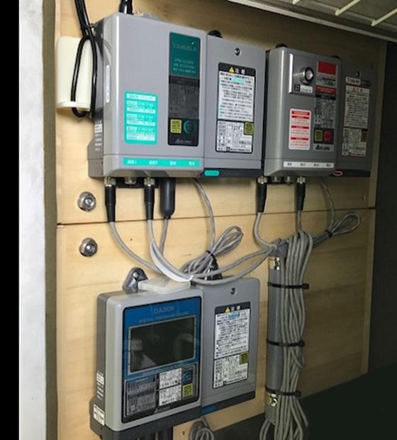 ガバナ圧力監視システム更新工事