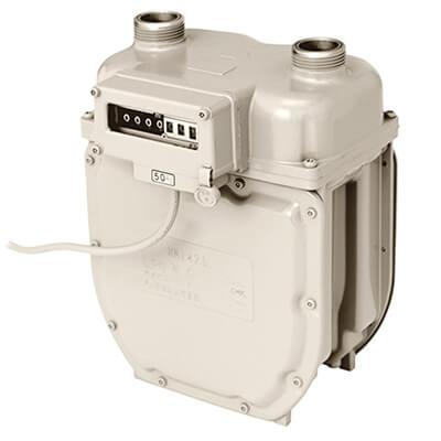パルス発信機能付膜式ガスメーター RN